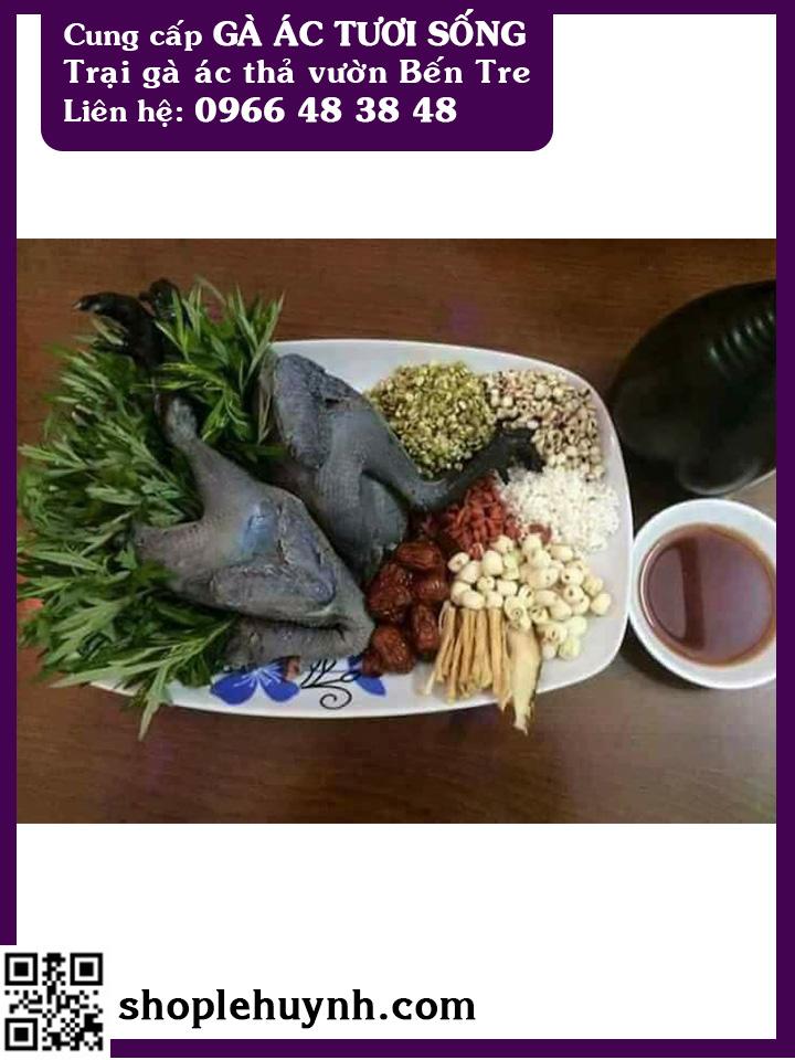 Gà ác nấu cháo đậu xanh - món ngon bổ dưỡng cho bé