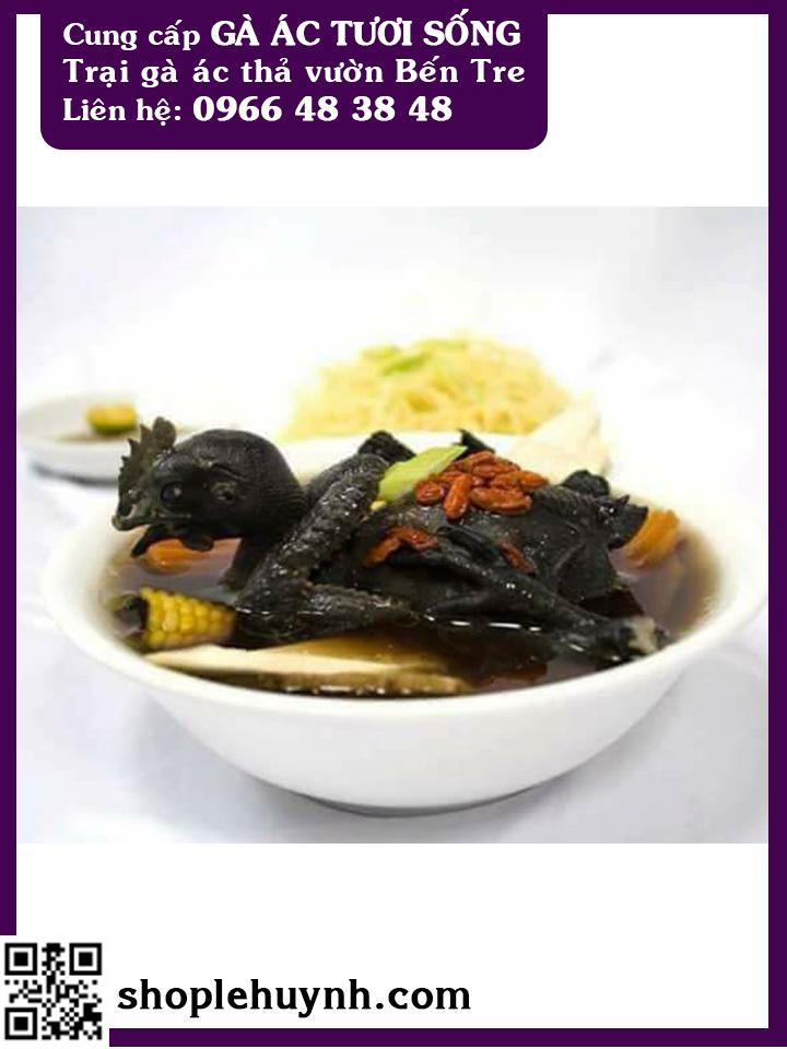 Thai phụ ăn gà ác tiềm thuốc bắc có tốt không?