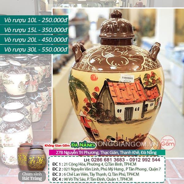 Địa chỉ cửa hàng bán bình ngâm rượu giá rẻ tại Bình Thuận